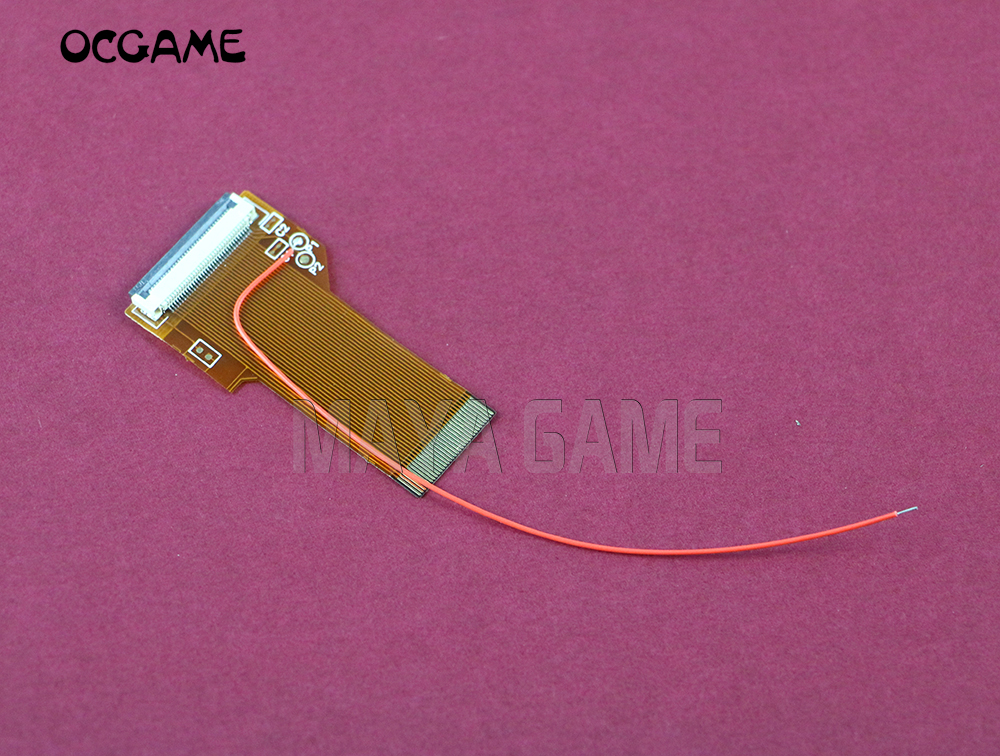 OCGAME for game boy <font><b>advance</b></font> gba <font><b>sp</b></font> ribbon cable <font><b>AGS</b></font> <font><b>101</b></font> backlit adapter, 32 pin or 40 pin image