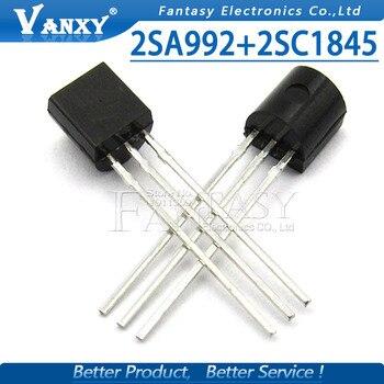 20PCS 2SA992 TO-92 2SC1845 TO92 10pairs (10PCS A992 + 10PCS C1845) hi-fi the tube new original