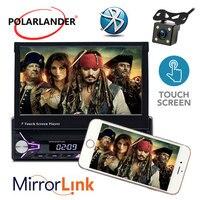 7 inche Autoradio Car radio HD Bluetooth Touch Screen Mp5 support MP3/USB/SD card 1 Din radio cassette player