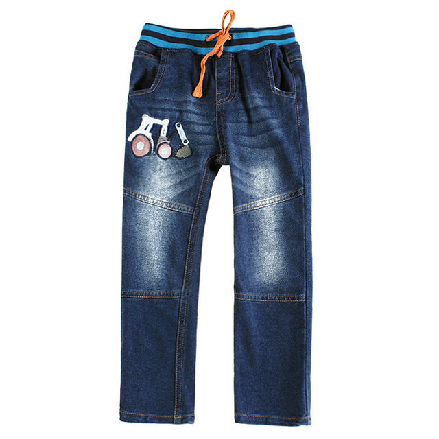 2016 free shipping hot sale Boys Children Jeans Casual Jeans for Boy  new Solid Boy Pants Spring/Autumn Kids Pants