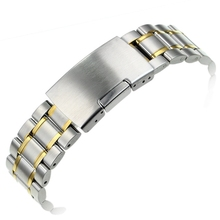 Solid Stainless Steel Watch Bracelet Watch band smooth Head watch straps 18mm 20mm 22mm 24mm hot