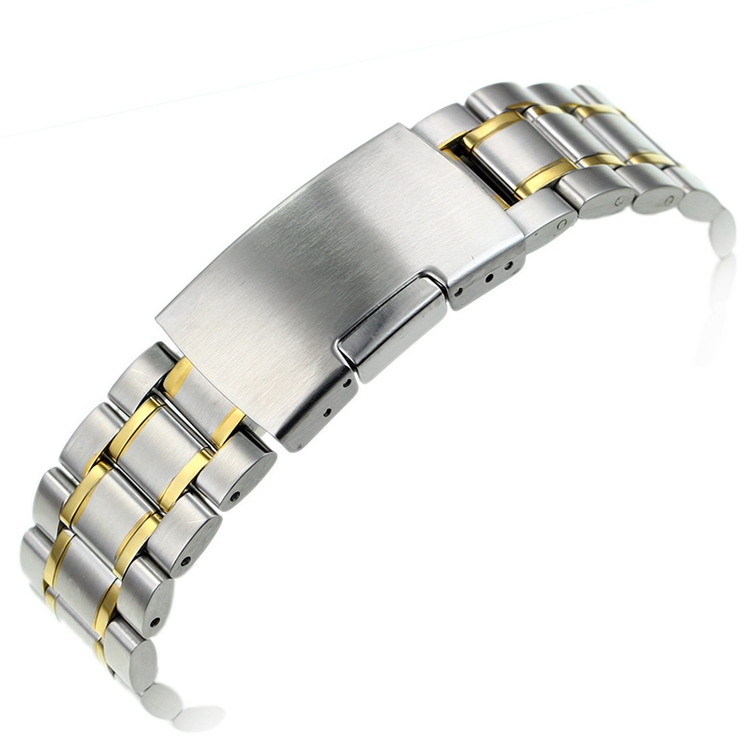 Solid Stainless Steel font b Watch b font Bracelet font b Watch b font band smooth