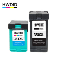 HWDID 350XL 351XL Ink Cartridge Replacement For HP 350 351 Use For D4200 D4260 D4263 D4360