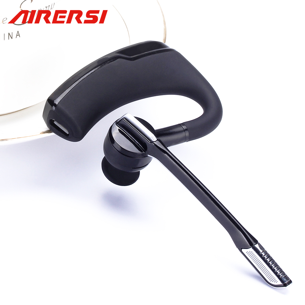 K6 Bluetooth Headset Car Driver Wireless Handsfree Bluetooth Earphone V4.1 Bluetooth Business Office Music Sports Headphones