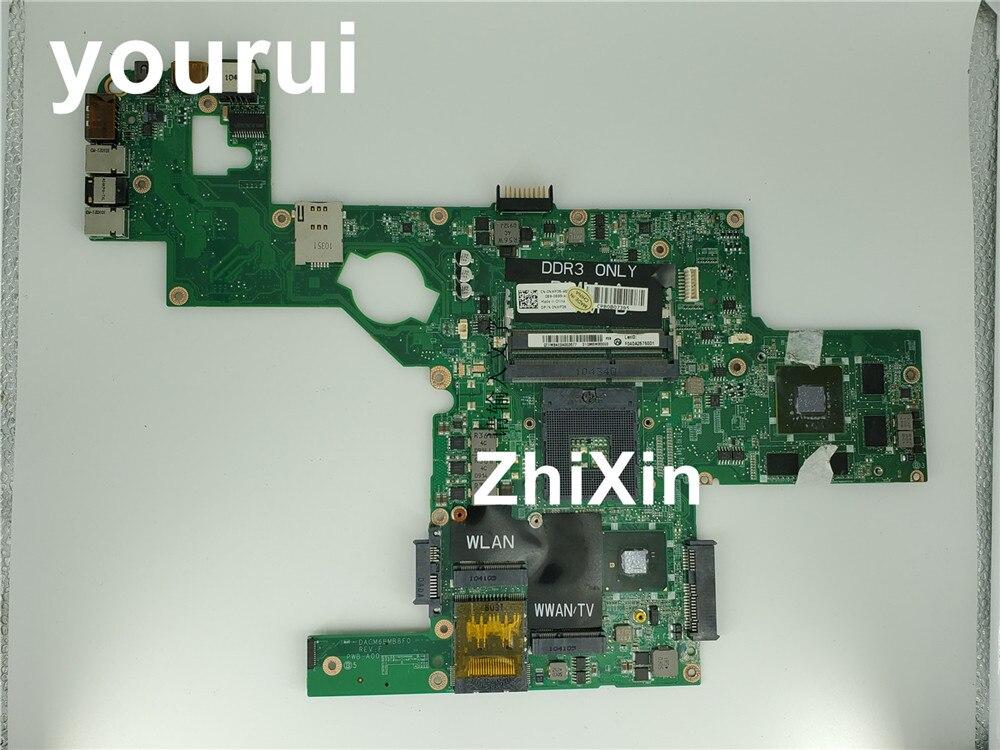 Для Dell XPS 15 L501X Материнская плата ноутбука HM57 s989 NWF36 0NWF36 CN-0NWF36 DAGM6BMB8F0 w GT435M 2 Гб GPU