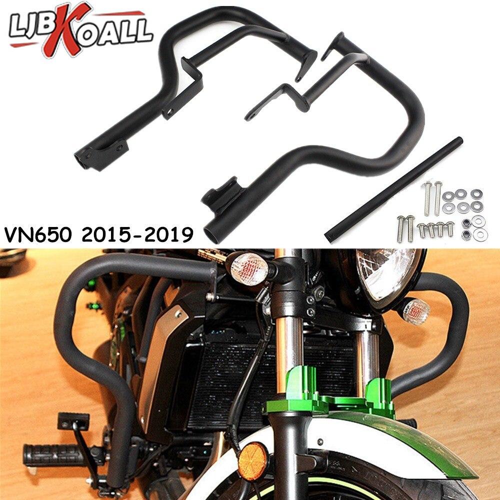 Engine Guard Bumper Bar Protection Crash Bar Frame Protector For kawasaki Vulcan S 650 VN650 EN650 s650 2015 2016 2017 2018 2019 crash bar mt 09