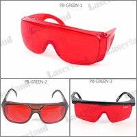PB-GB OD4 + 405nm 445nm Azul Óculos de Segurança de Proteção Do Laser 532nm Verde 520nm 515nm