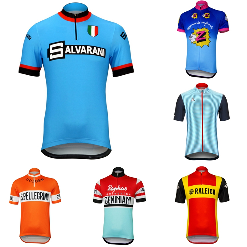 Prendas ciclismo retro short sleeve jersey 2019 Summer cycling Jersey colourful bike shirts Ropa bicicleta hombre maglia MTB