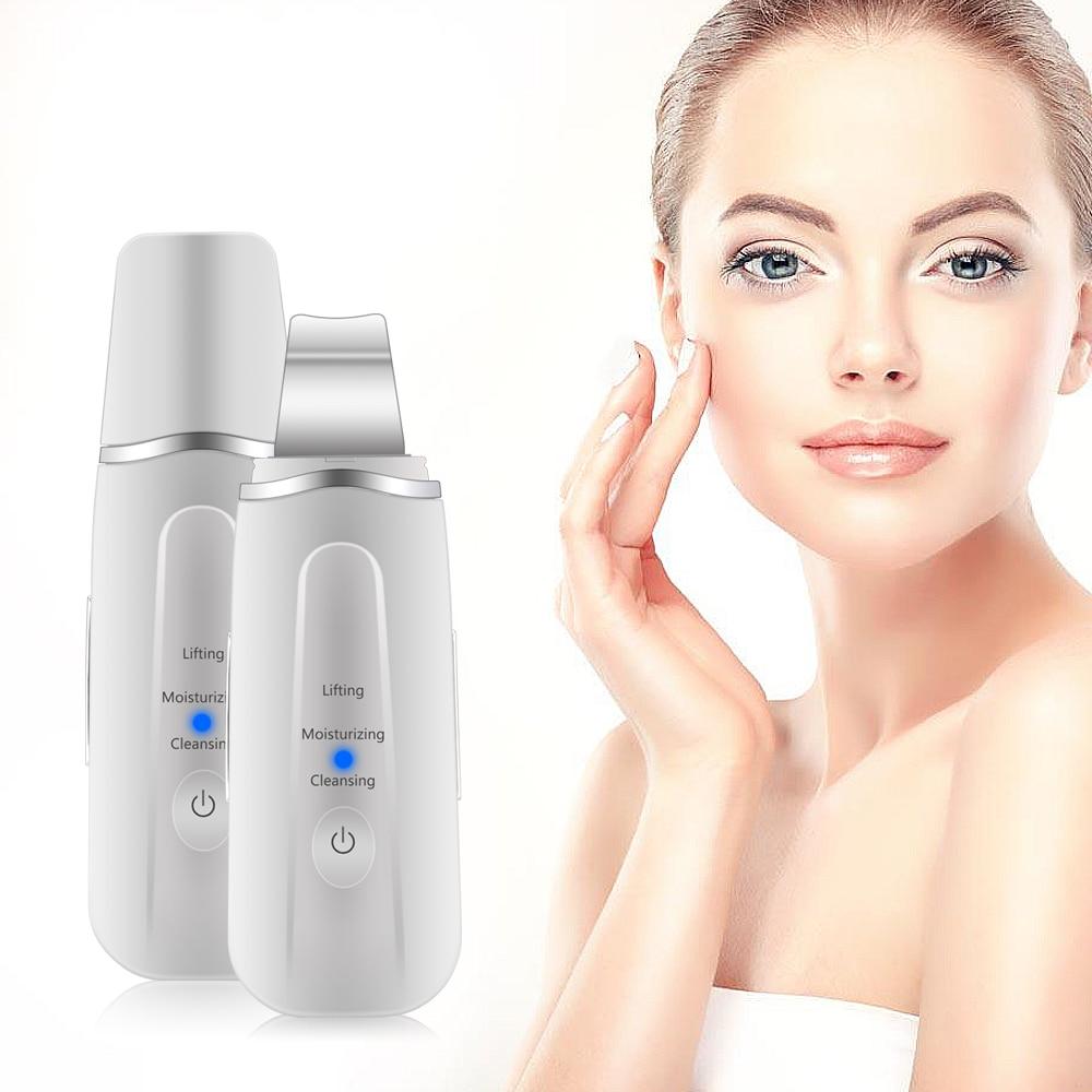 Ultrasonic Face Scrubber