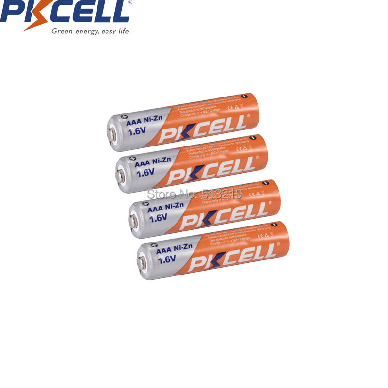 Image 2 - 4PCS 1.6V NI ZN AAA battery +4pcs AA rechargeable batteries packed with NIZN Battery charger for AA/AAA NI* ZN battery PKCELLReplacement Batteries   - AliExpress