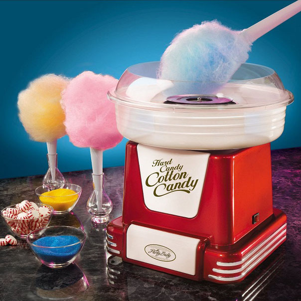 Vintage Style Home Cotton Candy Machine Hard American Nostalgia Children