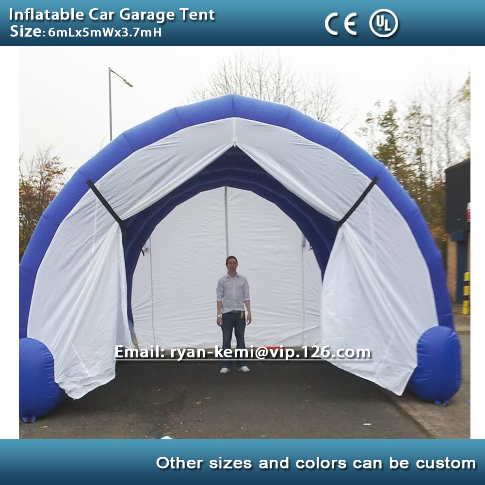 inflatable car Garage tent cover portable inflatable vehicle tent inflatable tunnel tent outdoor inflatbale marquee with blower-in Toy Tents from Toys ... & inflatable car Garage tent cover portable inflatable vehicle tent ...