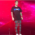 Fear of god Men Plaid Pants Fashion Scotch Lattice Kanye Man Compression Pants High Street Justin Bieber FOG Hombre Trousers