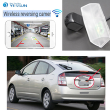 YESSUN New product car wireless Rear View Camera For Toyota Prius C for toyota Aqua CCD Night Vision Backup hd Camera+waterproof