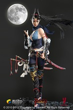 1/6 scale figure doll female Assassin sexy Lady Dragon in the Moonlight Seamless body 12″ Action figure doll Collectible model