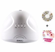48W Nail Dryer Sunone – LED UV Lamp + Profile Edge + Manicure Decor Sticker For Gel Curing