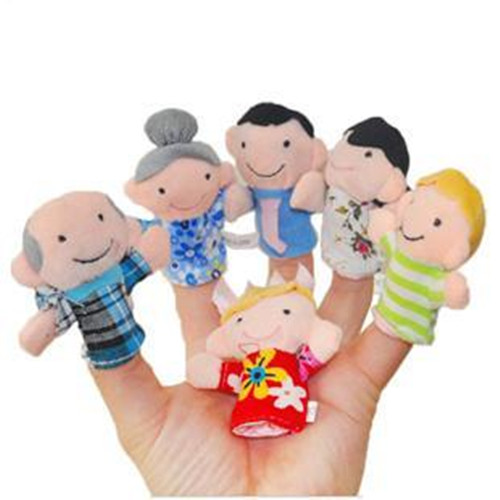 US $2 99 5% OFF Smarian Mini animals Hand Puppet Toys finger puppets finger  puppets baby toys 0 1 year old story telling toys-in Parts & Accessories
