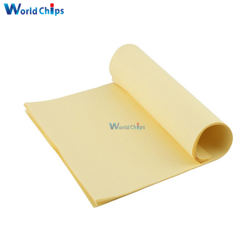 Useful 10pcs A4 Toner Heat Transfer Paper Yellow For Diy Pcb Electronic Prototype Mark Top Quality Integrated Circuits Active Components