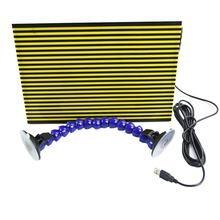 Furuix-tabla reflectante para detección de abolladuras, reparación de daños por granizo con soporte de ajuste (LED), 1 unidad