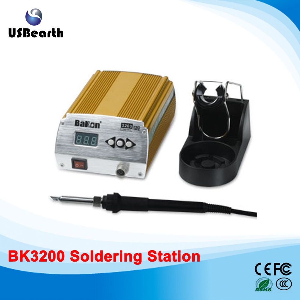 New Bakon 120w Digital High Frequency Smart Lead Free Soldering Station BK3200 220v 120w bk2000 high frequency soldering station lead free solder station high frequency welder for sale
