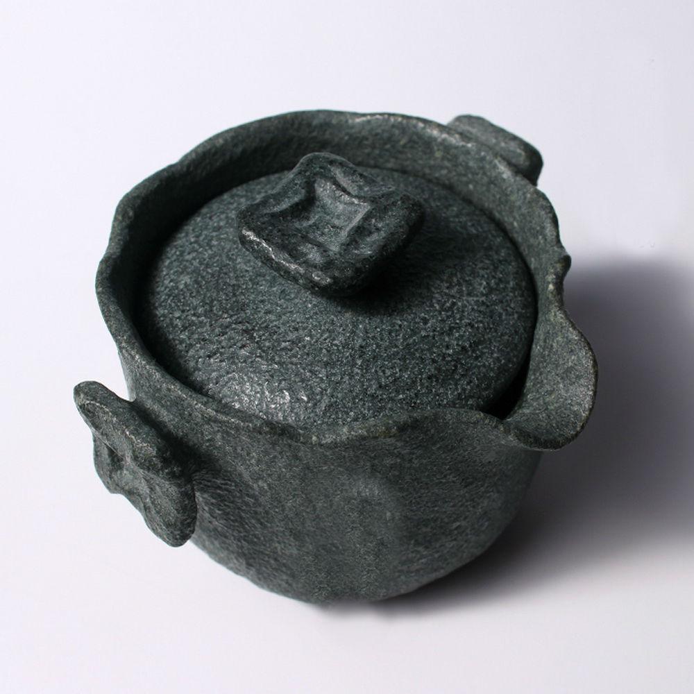 Чай Gongfu из гранодиорита ручной работы, гайвань с фильтром заварочный чайник 150 мл - 3