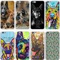 german shepherd dog Hard Transparent Cover Case for iPhone 7 7 Plus 6 6S Plus 5 5S SE 5C 4 4S