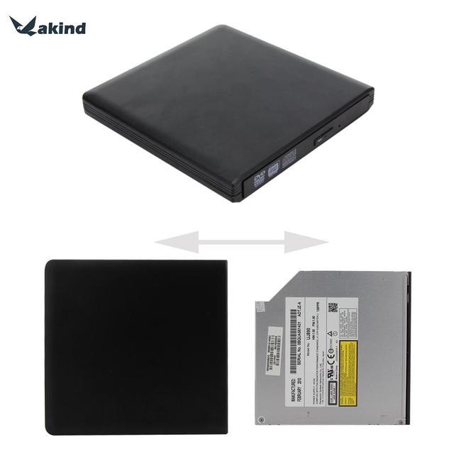 Slim portátil usb3.0 sata cd/dvd-rw burner escritor externo unidade de disco rígido para macbook pro air w/support exteranal estranho/dispositivo hdd