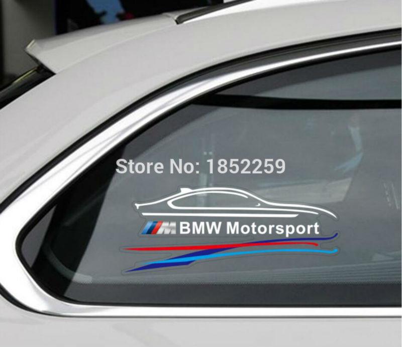 Ideas Bmw Car Sticker On Fhetchus - Window clings for car sports