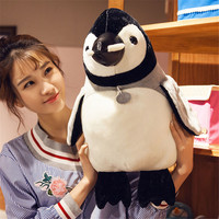 40cm Big Plush Animal Penguin Toy Stuffed Soft Cartoon Penguins Doll Pillow Kids Gift