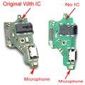 Новый микро док-коннектор; pcb; плата для Huawei P20 Lite USB порт для зарядки гибкий кабель плата запасные части