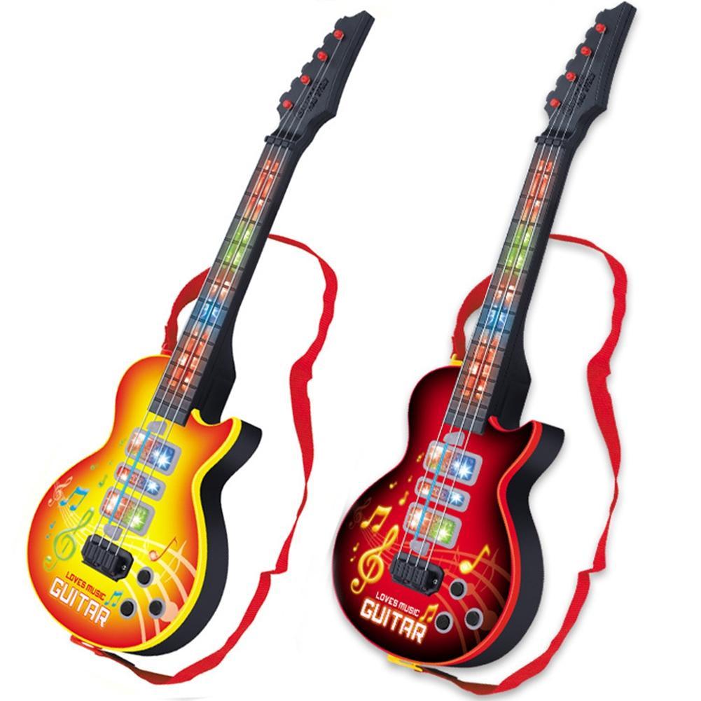LeadingStar Hohe Qualität 4 Strings Music Elektrische Gitarre Kinder Musical Instruments Pädagogisches Spielzeug Für Kinder Als Ne