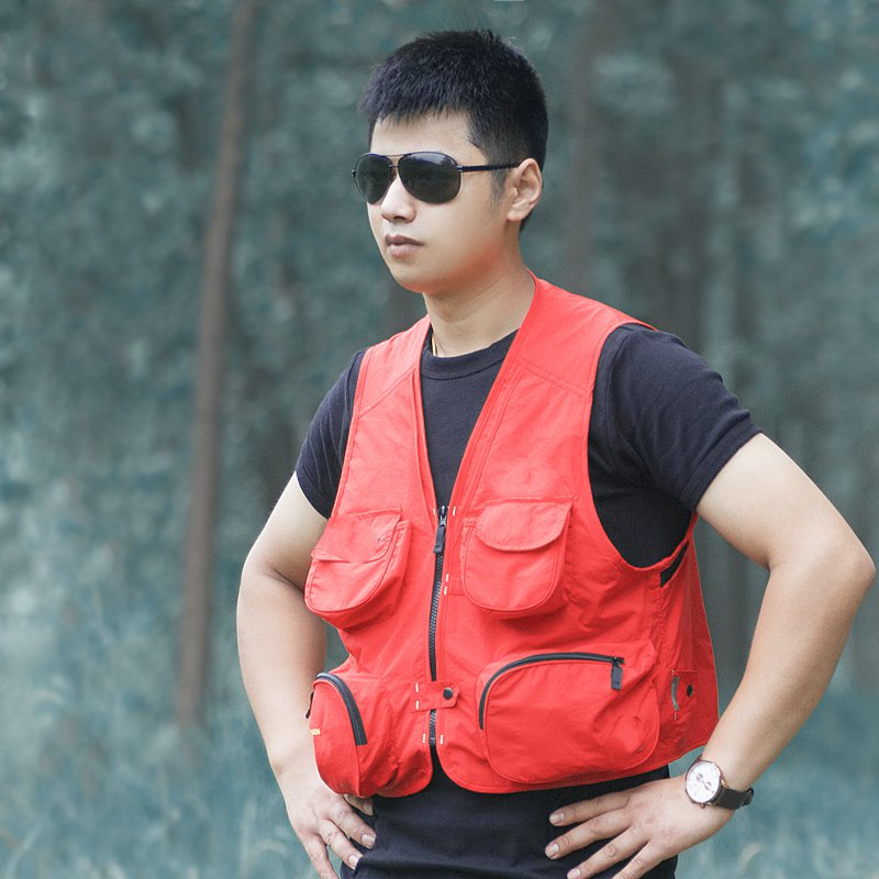 Ancient mountain outdoor men s waistcoat professional photographer leisure fishing vest vest overalls director journalist