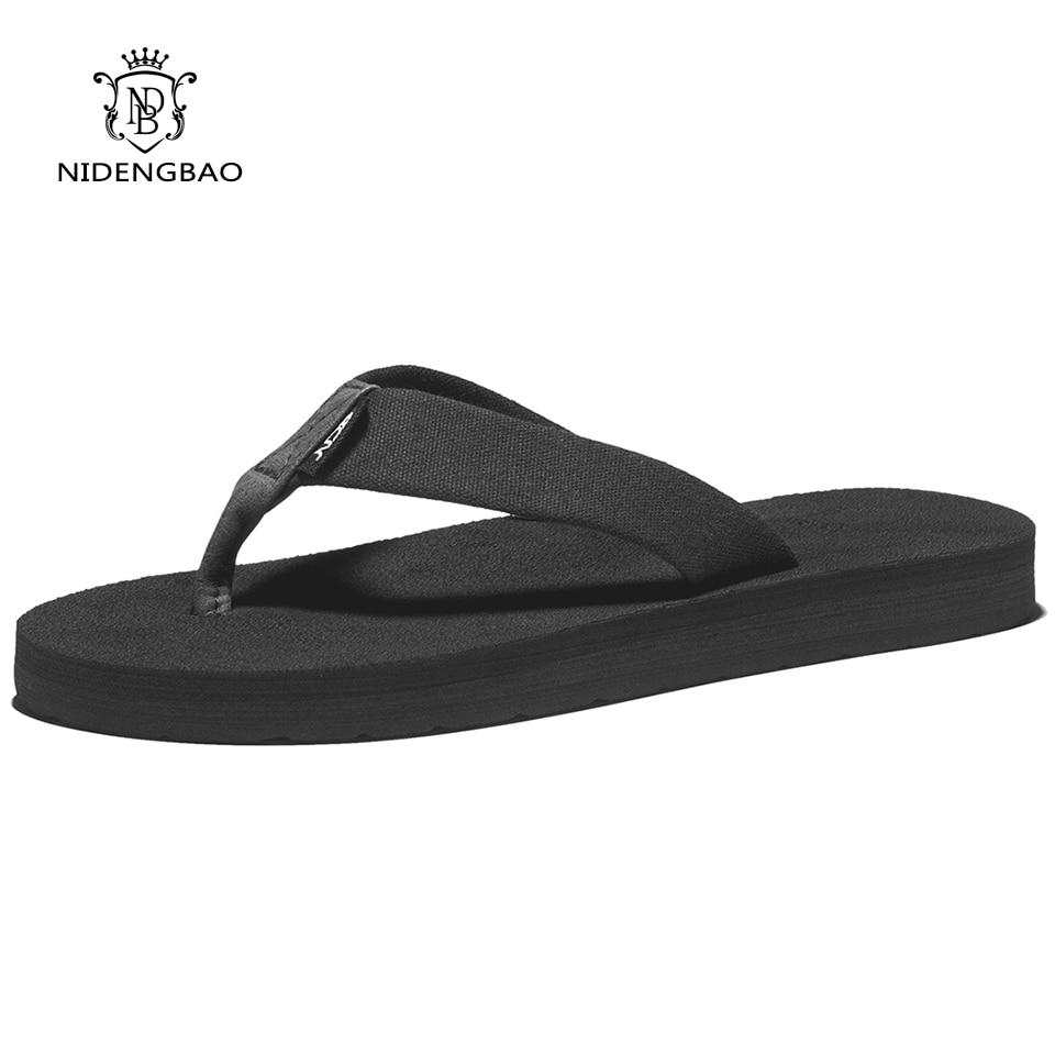 Pantoufles d'été à plateforme pour femmes, tongs de plage confortables, sandales noires