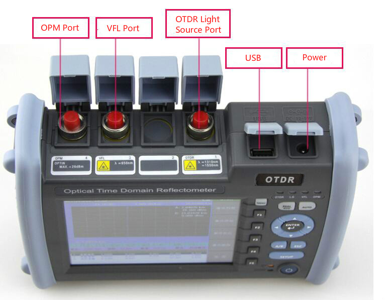 JW3302ET-S1 SM OTDR 1310/1550nm 35/33dB Built in Optical Power Meter and Light Source and Visual Fault Locator(VFL)JW3302ET-S1 SM OTDR 1310/1550nm 35/33dB Built in Optical Power Meter and Light Source and Visual Fault Locator(VFL)