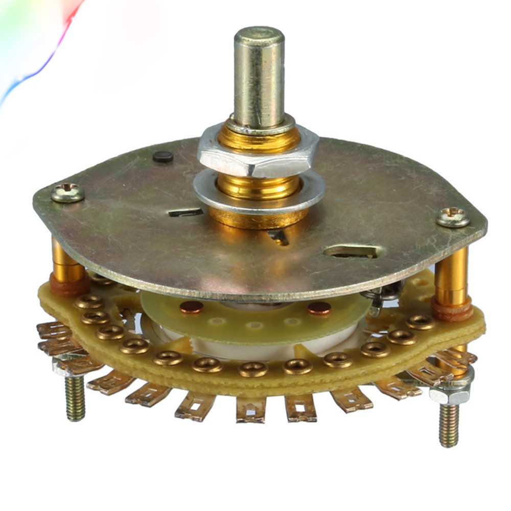1P16T 1 Deck 16 Position Band Channel Selector Electric Rotary SwitchSwitches   -
