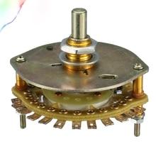 1P16T 1 Deck 16 miejsce pasmo kanał selektor elektryczny przełącznik obrotowy
