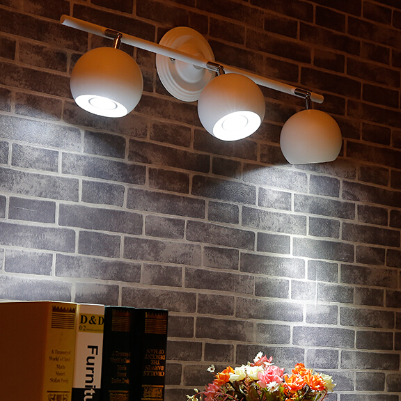 black ceiling lamps be turned dome light clothing store LED spotlights track lights installed TV background headlights light a1 clothing store led track lights can