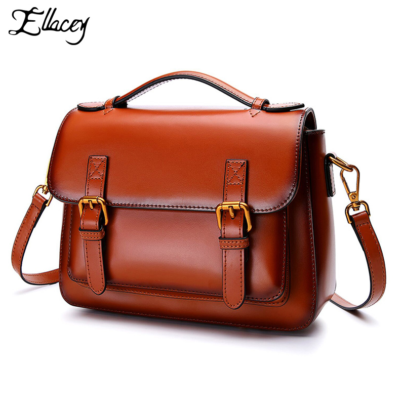 2018 Retro Double Belt Soft Back Shoulder Bag Ladies Solid Color Buckle Small Square Bag Messenger Bag Girl Summer Crossbody Bag micocah women simple double color buckle buckle shoulder bag chain messenger bag gn40021