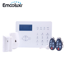 Wireless Home Security Alarms Touchscreen GSM PSTN Alarm System Android IOS APP Control Intrusion Alarm ST IIIB Pet Friendly