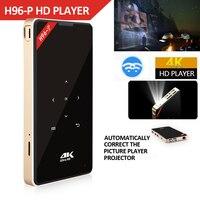 Ultra 4K Mini DLP Projector Android TV Box H96 P Amlogic S905X 1GB 8GB/2GB 16GB 2.4G/5GHz Wifi Bluetooth HD IN DLP LED Projector