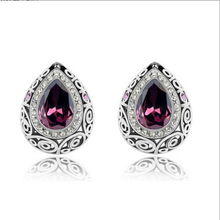 cheapest price in aliexpress,free shippings crystal earrings for women