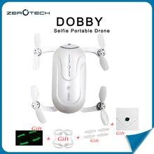 Dobby Drone ZEROTECH Dobby Portable Poche Selfie Drone Intelligent FPV Quadcopter Avec HD Caméra rc hélicoptère