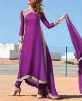 Floral Spitze Vintage Muslimischen Kleid Chiffon Frauen Kaftan Lange Maxi Kleider O-ansatz Lange Hülsen-elegante Malaysia Indischen Kleid