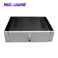 Empty Aluminum Chassis Power Amplifier Box Enclosure W430*H120*D300mm