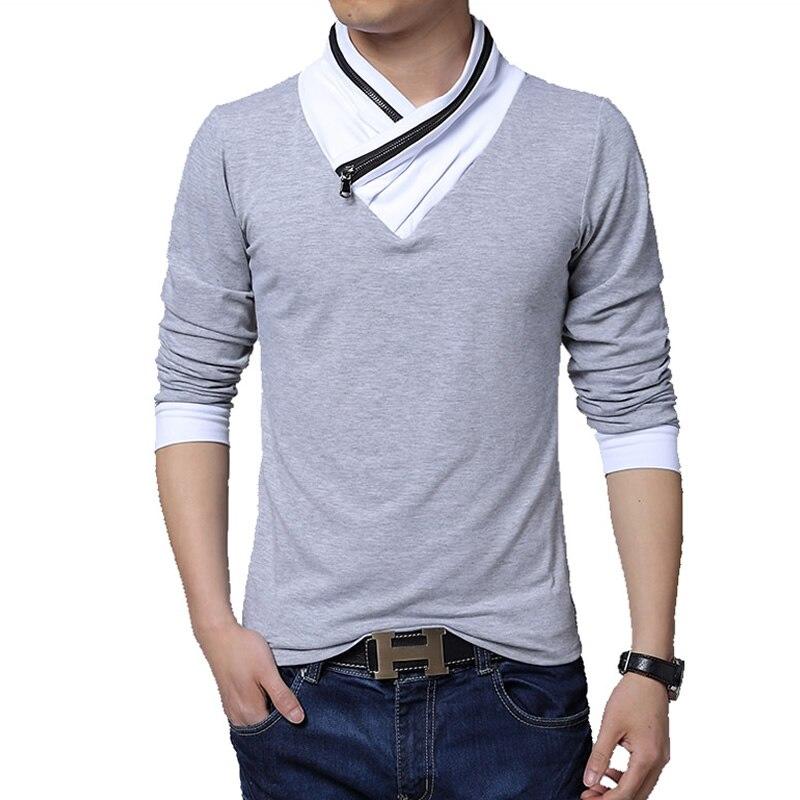 Aliexpress.com : Buy 5XL New Fashion Slim Fit Long Sleeve T Shirt ...