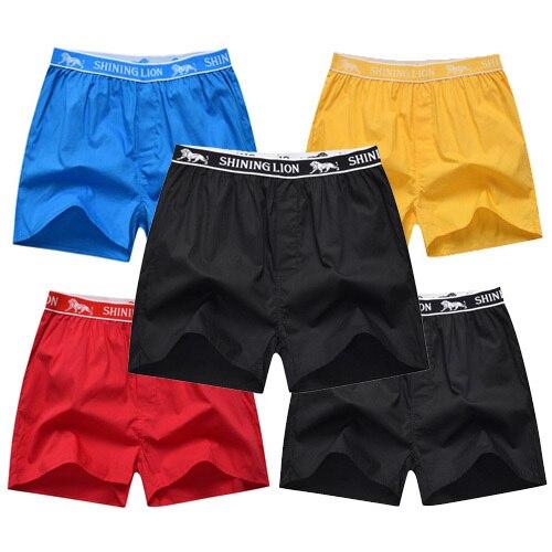5 pcs lot mens underwear boxers shorts 100 cotton fashion underwear sexy soft plaid. Black Bedroom Furniture Sets. Home Design Ideas