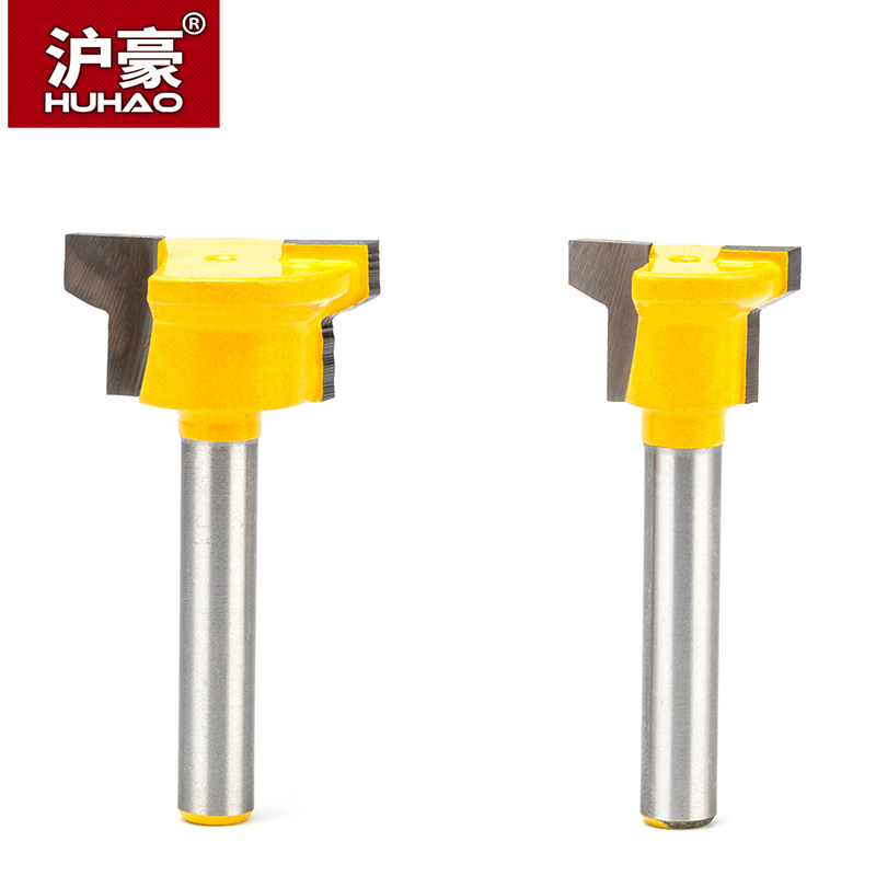 HUHAO 1pc 1/4 Shank Woodworking Router Bits CNC Joint Combination Bit Drawer Lock Knife  Finger Joint Plate Milling CutterHUHAO 1pc 1/4 Shank Woodworking Router Bits CNC Joint Combination Bit Drawer Lock Knife  Finger Joint Plate Milling Cutter