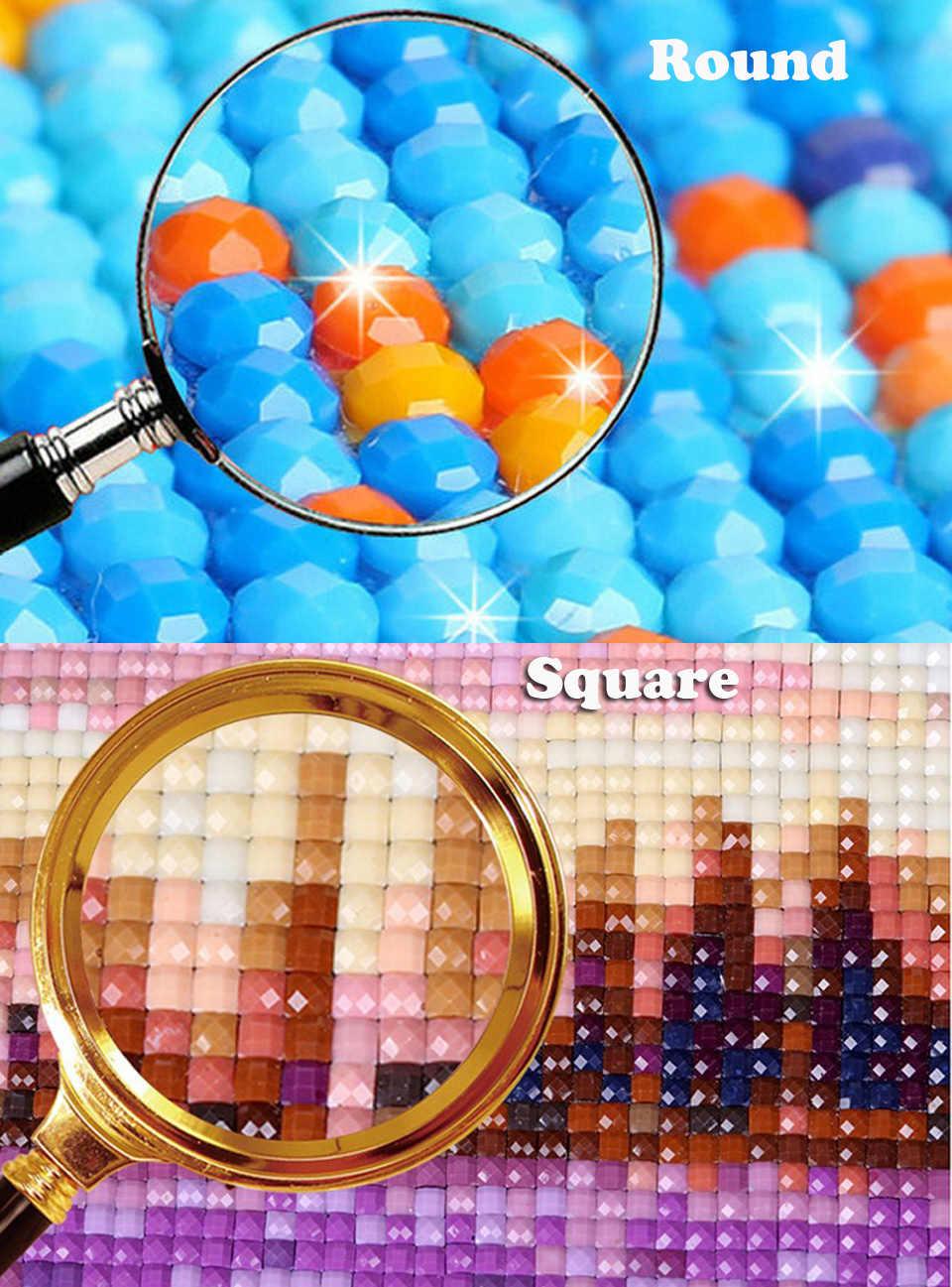 """5D pittura diamante FAI DA TE """"cherry neve in montagna"""" 3D ricamo punto croce mosaico decorazione della casa regali"""