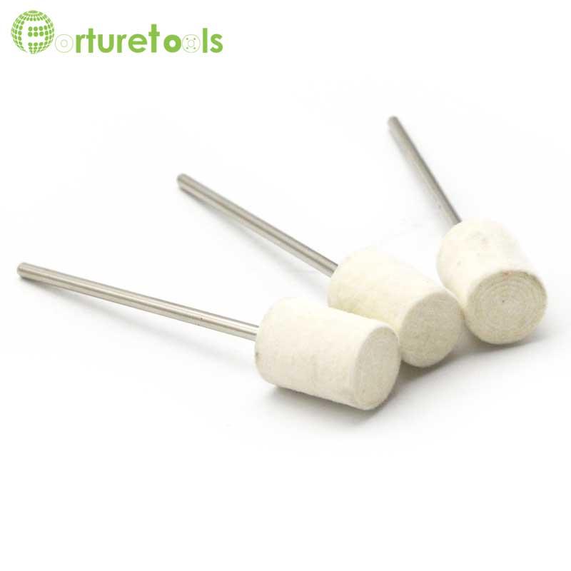 100 db gyapjúhoz nemezelhető pontok dremel kiegészítők - Csiszolószerszámok - Fénykép 2