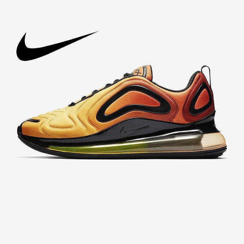 Original Autêntica Nike Air Max 720 Tênis de Corrida dos homens Confortável Respirável Sapatos Desportivos 2019 Primavera New Arrival AO2924-800